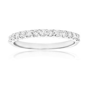 18ct White Gold 'Chloe' Ring With 0.3 Carats Of Diamonds