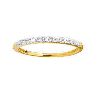 "9ct Yellow Gold Diamond  ""KEEPSAKE"" Ring"