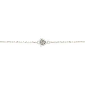 9ct White Gold Dazzling Diamond Bracelet