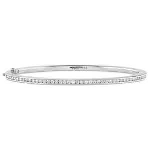Hearts On Fire Classic Channel Set Bangle