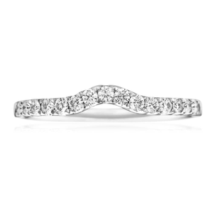 Flawless Cut 18ct White Gold Diamond Ring (TW=25pt)