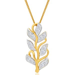 Flawless Cut 9ct Yellow Gold Diamond Pedia Pendant With Chain (TW=50-59pt)