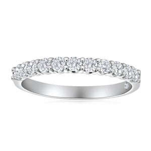 Flawless Cut 18ct White Gold Diamond Ring (TW=50pt)