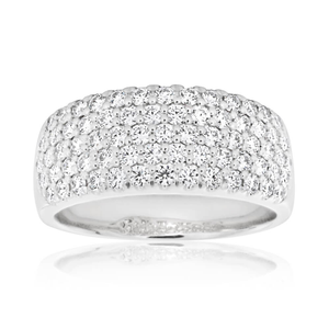 Flawless Cut 18ct White Gold Diamond Ring