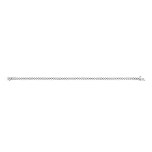 Flawless 9ct White Gold 17Ccm Tennis Diamond Bracelet (TW=1ct)