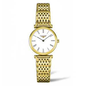 La Grande Classique Longines L42092118 Gold Stainless Steel Womens Watch