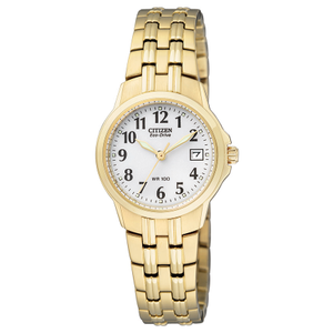 Citizen Eco-Drive EW1542-59A Womens Gold Tone Watch
