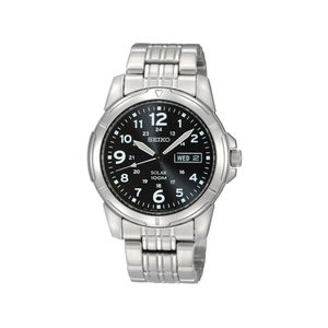 Seiko SNE095P Solar Mens WR100 Watch