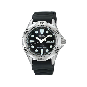 Seiko SNE107P-2 Solar Divers Mens Watch