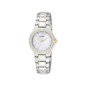 Citizen EL2994-51D Silver & Gold Womens Watch