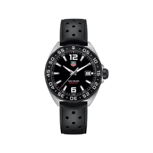 TAG Heuer Formula 1 Grande WAZ1110FT8023 Black Rubber Mens Watch