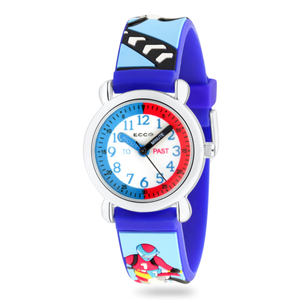 ECC Blue Strap Bikes Kids Watch