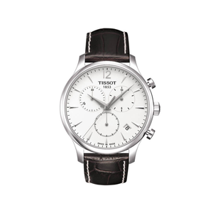 Tissot Tradition T0636171603700  Brown Leather Mens Watch