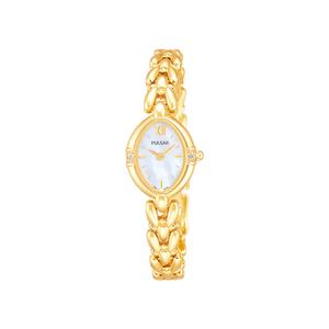 Pulsar PEGG22 Gold Tone Womens Watch