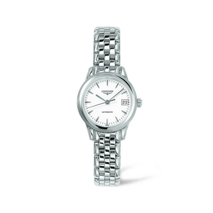 Longines Flagship L42744126 Silver Stainless Steel Womens Watch