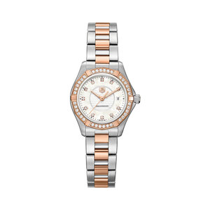 TAG Heuer Aquaracer WAP1452BD0837 Two-Tone Stainless Steel and Diamonds Womens Watch