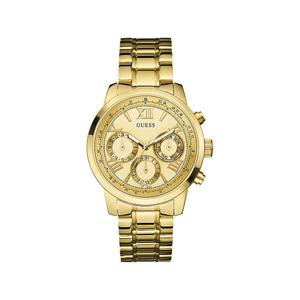 Guess W0330L1 Sunrise Gold Tone Womens Watch