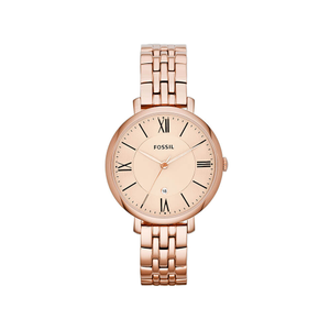 Fossil ES3435 Ladies Rose Tone Watch