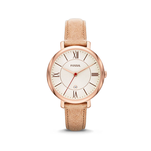Fossil ES3487 Tan Strap Ladies Watch