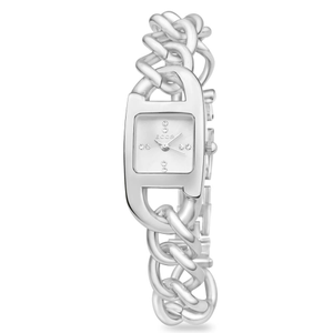 ECC Silver Plated Womens Chain Watch