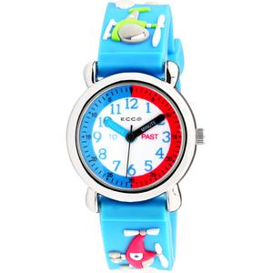 ECC Kids Helicopter Blue Strap Watch