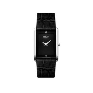 Cerati A4119W-BLK Silver Mens Watch