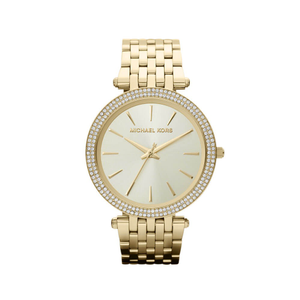 Michael Kors MK3191 Darci Stone Set Gold Tone Womens Watch