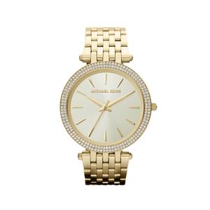 f1706bb342c Michael Kors MK3191 Darci Stone Set Gold Tone Womens Watch