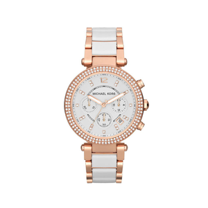 Michael Kors MK5774 Parker Stone Set Rose Gold Tone Womens Watch