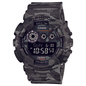 Casio GD120CM-8 G-Shock Camouflage Mens Watch