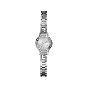 Guess W0411L1 Darling Silver Tone Stone Set Womens Watch
