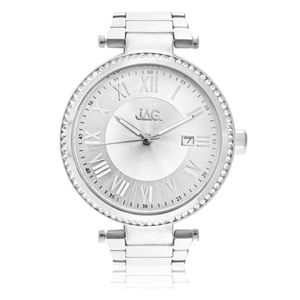 JAG J1846A Victoria Silver Tone Womens Watch