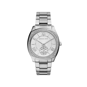 Michael Kors MK6133 Bryn Stone Set Silver Tone Womens Watch