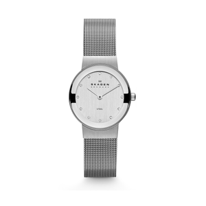 Skagen 358SSSD Freja Steel Mesh Womens Watch