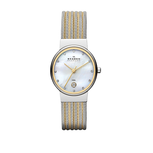 Skagen SKW2140 Gitte Steel Mesh Womens Watch