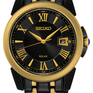 Seiko SNE406P Le Grand Sport Solar Mens Watch