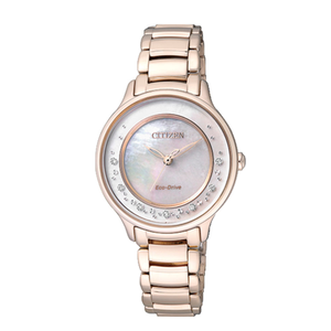 Citizen Eco-Drive EM0382-51D Diamond Set Womens Watch