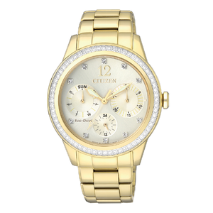 Citizen Eco-Drive FD2012-52P Stone Set Womens Watch
