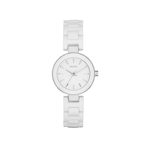 DKNY NY2354 Stanhope Ceramic White Tone Womens Watch