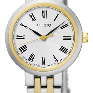 Seiko SRZ462P Two Tone Womens Watch