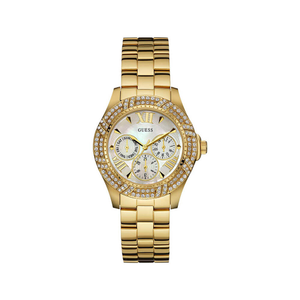 Guess W0632L2 Shimmer Stone Set Womens Watch