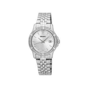 Seiko SUR741P Stone Set Womens Watch