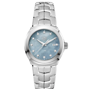 TAG Heuer Link WBC1313BA0600 Diamond Set Womens Watch