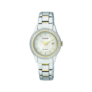 Citizen Eco-Drive FE1124-82A Crystal Set Womens Watch