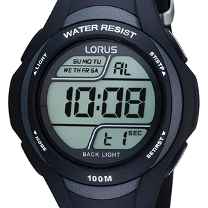 Lorus R2305EX-9 Digital Unisex Watch