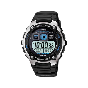 Casio AE2000W-1 World Time Mens Watch