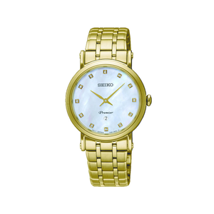 Seiko SXB434P Premier Diamond Set Womens Watch