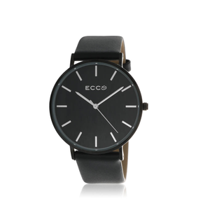 ECC Black Tone Metro Black 41mm Unisex Watch