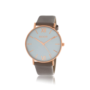 Ellis & Co Collection Rose Gold Tone 36mm Womens Watch