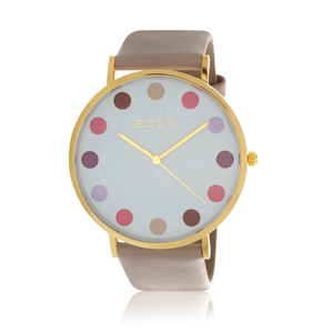 ECC Multi Coloured Ball Dial Womens Watch